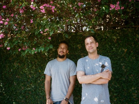 Nile Saulter and Jeremy Relph