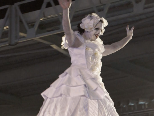 The Dying Swan – Ras Nijinsky in Drag as Pavlova