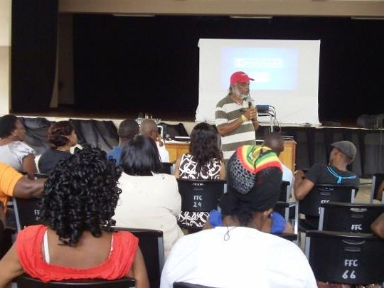 Film workshop for Tobago-based filmmakers