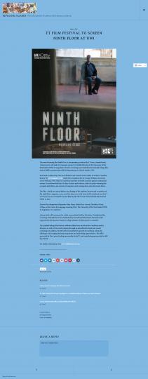 ttfilmfestival to screen Ninth Floor at UWI