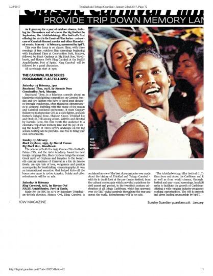 TT Guardian: Classic Carnival Films