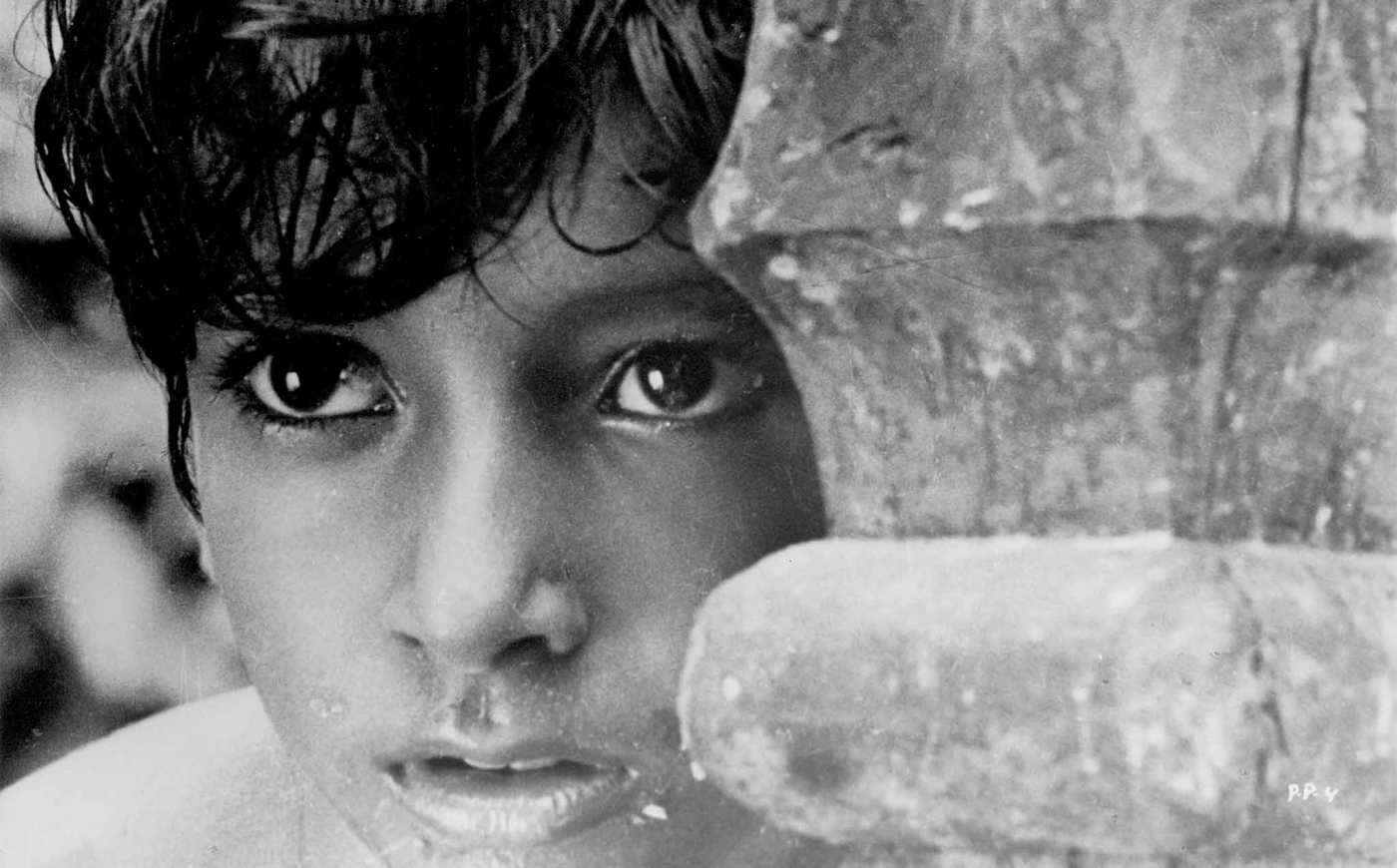 Image Caption: Pather Panchali (1955 India) Directed by Satyajit Ray Shown: Subir Bannerjee—Click to read this article.