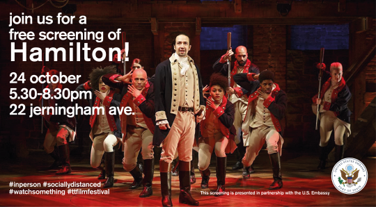 free screening of Hamilton!