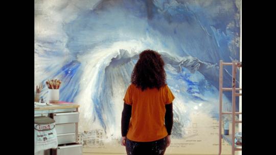 Image Caption: Featured image for 'Firelei Báez: An Open Horizon (or) the Stillness of a Wound'.