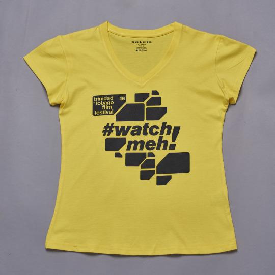 ttff/21 Tshirt (Yellow/Female)